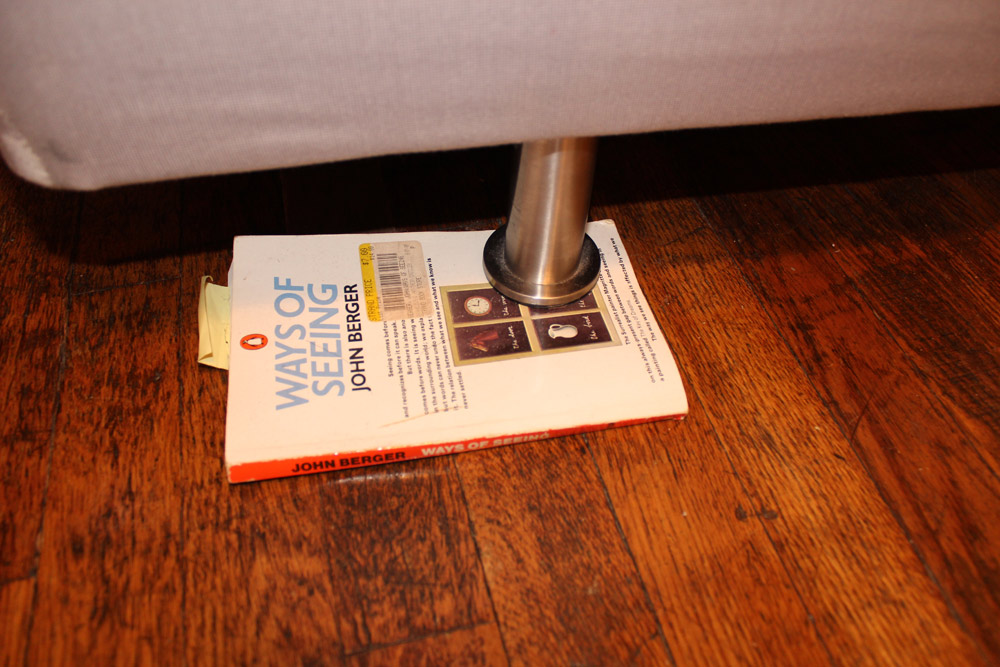Books Under My Furniture