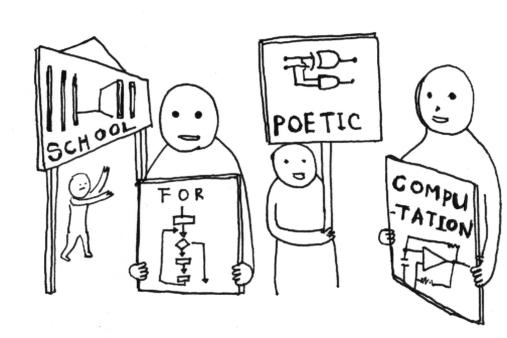 School for Poetic Computation