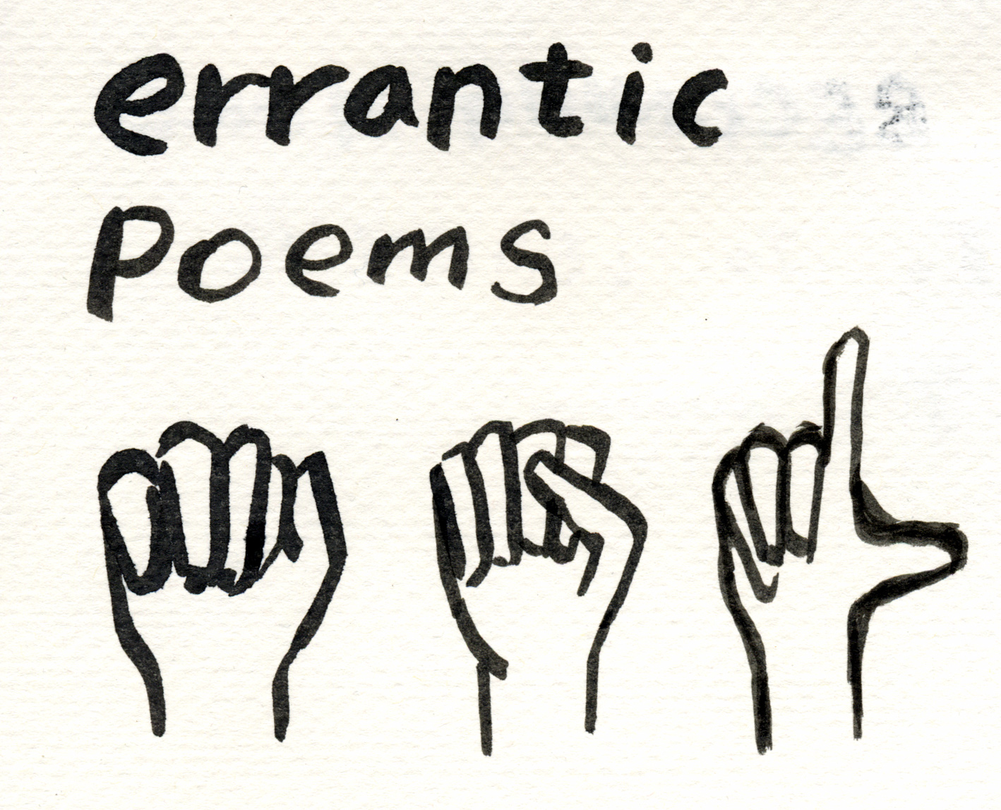 Errantic poetry