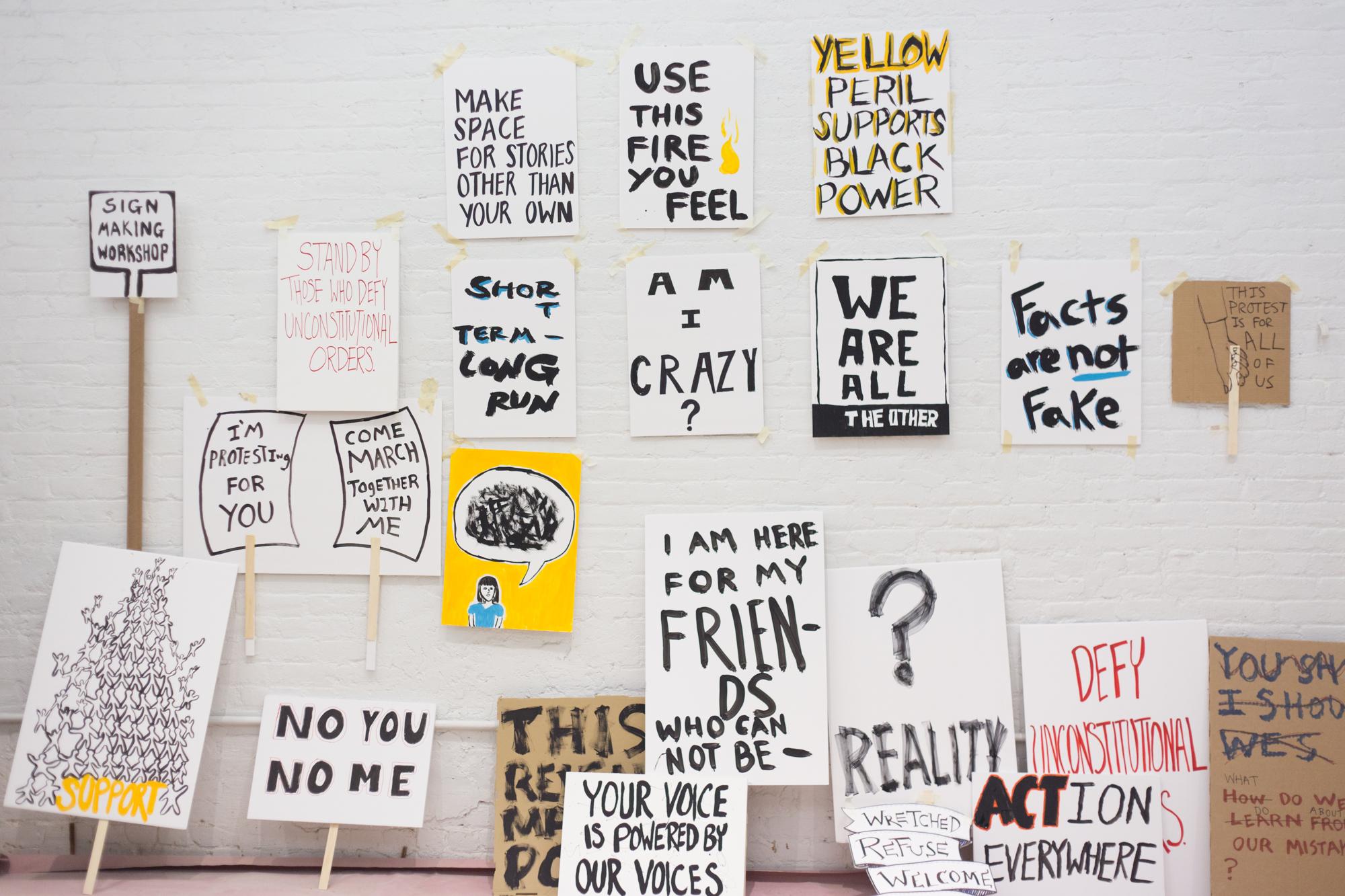 Sign Making Workshop NYC